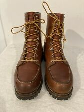 RARE 1970's Vintage RED WING Sz 10.5D IRISH SETTER 855 Moc Toe Boots