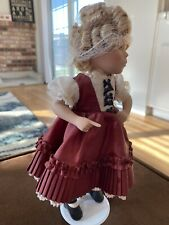 """Danbury Mint """"Dimples"""" Shirley Temple Movie Classics 10"""" Doll"""