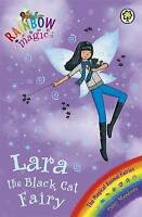Lara the Black Cat Fairy (Rainbow Magic) by Daisy Meadows, Acceptable Used Book