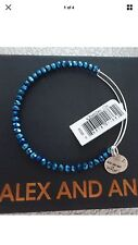NEW ALEX and ANI Russian Silver DEEP SPACE BRILLIANCE Bangle BRACELET