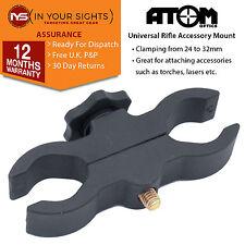 Universal rifle scope mount / Torch, light, laser bracket / Air gun clamp