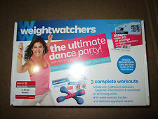 Weight Watchers: The Ultimate Dance Party! With firming sticks Dvd Brand New