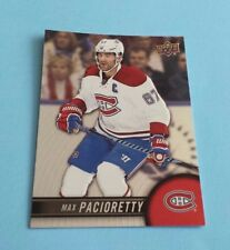 2017/18 Tim Hortons Upper Deck Hockey Max Pacioretty Card #67*Montreal Canadiens