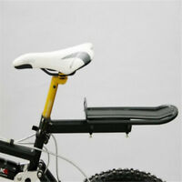 New Bicycle MTB Bike Rear Rack Seat Post Mount Pannier Luggage Carrier Aluminum