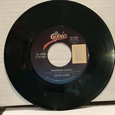 Doug Stone Warning Labels / Left, Leavin', Goin' or Gone 45 RPM Vinyl VG+