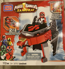 POWER RANGERS Samurai RED LION ZORD Megazord 5772