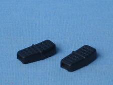 Lesney Matchbox Superfast Hondarora Original Black Plastic Seats x 2