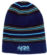 SUBLIME Striped Long Knit Beanie Skull Cap Licensed Adult OSFM New