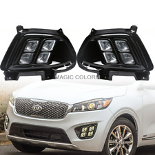 Assembly Led Bumper Daytime Running Light Fog Lamp for Kia Sorento 2015 - 2018