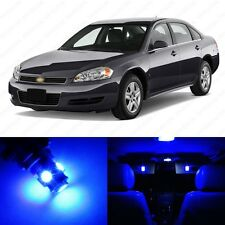 11 x Ultra Blue LED Interior Light Package For 2006-2012 Chevrolet Chevy Impala