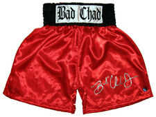 CHAD DAWSON HAND SIGNED BOXING TRUNKS WITH PROOF & COA
