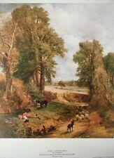The Cornfield, Constable vintage print - John Constable - 44x34cm
