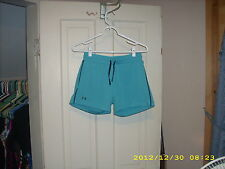 Under Armour Womens Shorts Blue Small