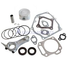Piston Kits Connecting Rod Full Gaskets Crankcase Seal for Honda GX160 5.5HP