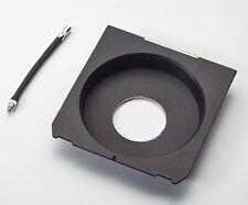 Wista, Linhof, Ebony, Intrepid recessed lens board + cable release extension