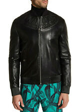 310faae20 Versace Leather Flight/Bomber Coats & Jackets for Men for sale | eBay
