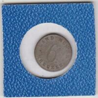 6 Kreuzer Sachsen Coburg Gotha 1832 Ernst 30° Stempeldrehung coin rotation