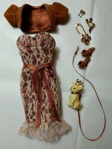 Barbie Birthstone Beauty Miss Topaz November  complete outfit Modelmuse Mattel