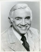 LORNE GREENE SMILING PORTRAIT TOURNAMENT OF ROSES PARADE 1981 CBS TV PHOTO