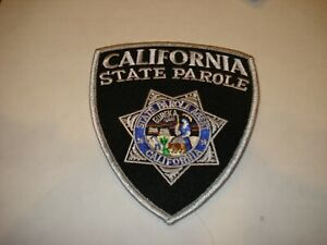 Lot of 9 California State Parole Officer Patches New Condition