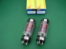 2 x 6L6GC JJ ELECTRONIC factory matched pair  -> 6L6 tube amp / Röhrenverstärker