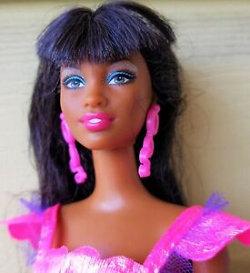 AA black African Barbie doll Fashionistas doll OOAK or collect