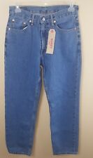 LEVI'S Red Tab 550 Men's Jeans 32X32 Blue Straight Leg Classic Zipper