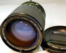 Soligor 28-80mm f3.5-4.5 OM lens manual focus for Olympus