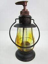 Western Bathroom Kitchen Soap Dispenser Vintage Lantern Rustic Farmhouse Decor