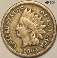 1863 Indian Head Penny Cent