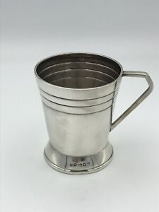 Vintage Sterling Silver Christening Cup London 1946 Preece & Williscombe