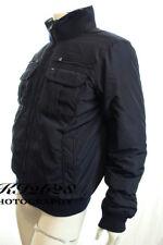 Tommy Hilfiger Men Navy Jacket Fur Lined Collar Ken Bomber Coat Size L