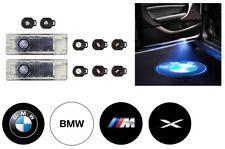 Bmw Genuine DEL porte Projecteurs Bienvenue étape Logo Emblème Lumière 63312414105