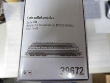 Märklin 39672 Diesellok Serie 204 der SNCB mfx Sound Metall Neuware