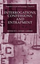 Interrogations, Confessions, and Entrapment 20 (2004, Hardcover)