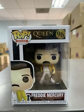 Funko Pop Rocks: Queen - Freddie Mercury Vinyl Figure #33732 w/ Protector