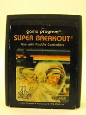 Original Super Breakout Game Program For Atari 1978 Use With Paddle Controllers