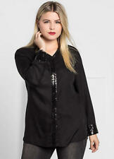 SHEEGO BLACK BLOUSE SIZE 28 NEW WITH TAG