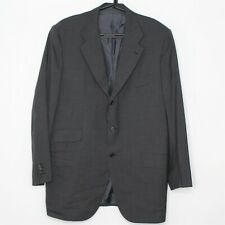 Kiton Napoli Mens 53 Made In Italy Surgeon Cuff 3 Button Suit A523
