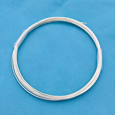 20 gauge wire solid Sterling Silver round beading wire half oz dead soft w20DS