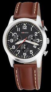 -60% M-WATCH by Mondaine Ltd Aero Herrenuhr Chronograph Swiss Made WBL.08420.LG