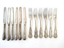 Victorian Sterling Silver Queen Victoria's Diamond Jubilee Commemorative 6 Fork