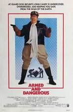 ARMED AND DANGEROUS Movie POSTER 27x40 B John Candy Eugene Levy Kenneth McMillan