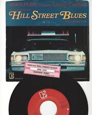 """45- MIKE POST- """"THEME FROM HILL STREET BLUES""""- ELEKTRA- W/PICTURE SLEEVE"""