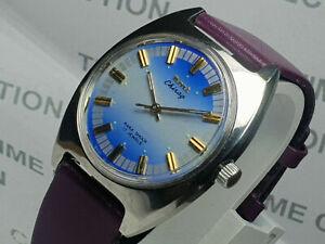 Vintage Hmt Chirag Analog Dial Mechanical Handwinding Mens Wrist Watch WU113 F