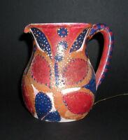 """MARIA MURGIA - """"Composizione"""" - Vaso in terracotta dipInta a mano + Autentica"""