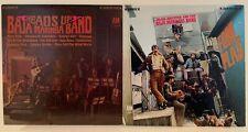 BAJA MARIMBA BAND lot of 2 LPs 1967 heads up & fowl play BOTH VG+ A&M latin jazz