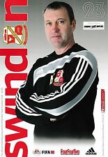 Football Programme>SWINDON TOWN v TRANMERE ROVERS Apr 2010