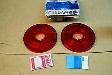 62 63 NOS FORD FAIRLANE & FALCON TAIL LIGHT LENSES PERFECT ORIGINAL FORD PAIR C2