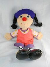 """1995 Big Comfy Couch Loonette Clown 20"""" Tall Mollys Friend"""